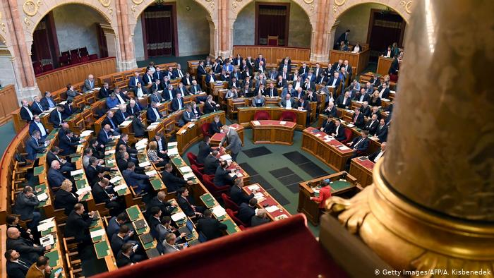 Ungarn Parlament in Budapest (Getty Images/AFP/A. Kisbenedek)